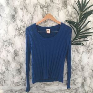Faded glory blue sweater